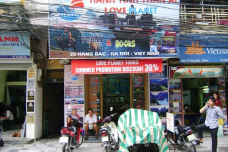 Love Planet Tours & Books Hanoi