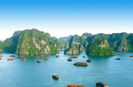 The majestic Halong Bay