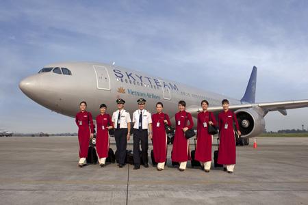 Vietnam Airlines is national airline in Vietnam