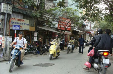 Cao Ba Quat Street, Ba Dinh District, Hanoi