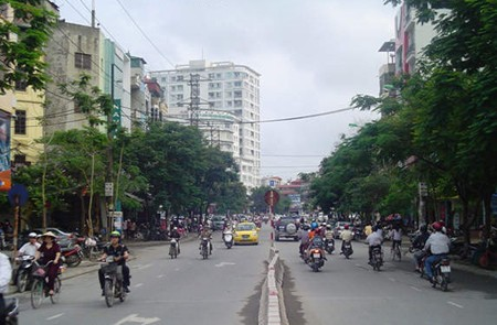Tran Dang Ninh Street, Hanoi