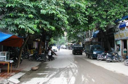 Van Don Street, Hai Ba Trung District, Hanoi
