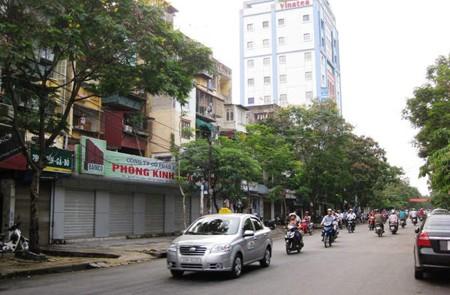 Vo Thi Sau Street, Hanoi