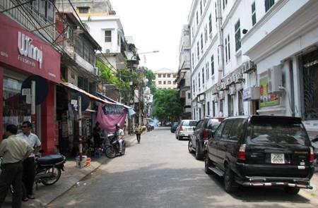 Vong Duc Street, Hoan Kiem District, Hanoi