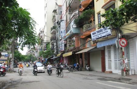 Vong Street, Hanoi