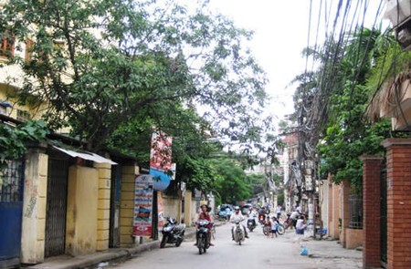 Vong Thi Street, Tay Ho District, Hanoi
