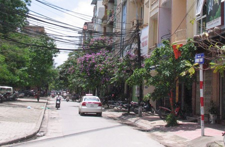 Vu Ngoc Phan Street, Dong Da District, Hanoi