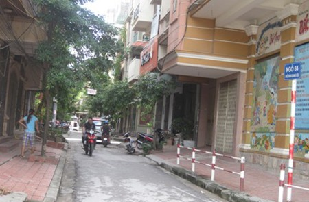 Vu Thanh Street, Dong Da District, Hanoi