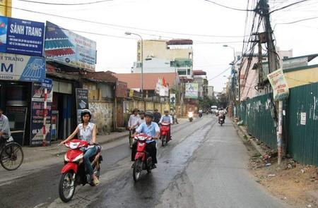 Vuong Thua Vu Street, Hanoi