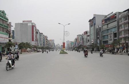 Xa Dan Street, Hanoi