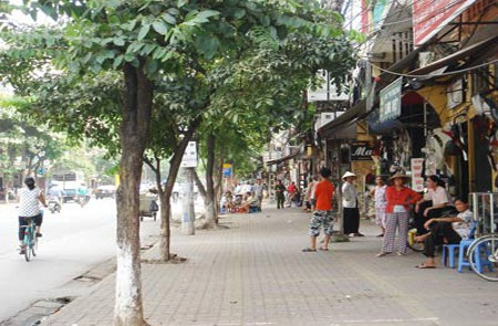 Yen The Street, Hanoi