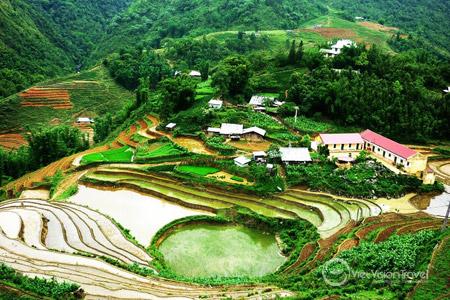 Cat Cat Village, Sapa, Lao Cai province.