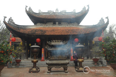 Do Temple in Bac Ninh province, Vietnam.
