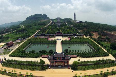Panorama of Bai Dinh Pagoda Complex