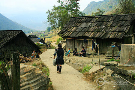 Sin Chai Village in Sapa.