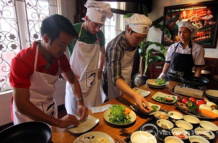 Cooking class in Highway 4 Restaurant, Hanoi copy