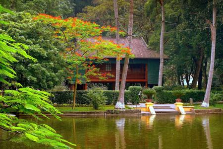 Ho Chi Minh house on stilt