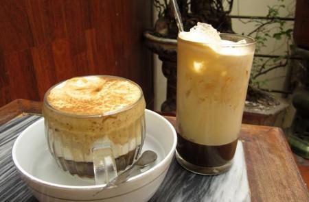Egg coffee, Hanoi