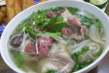 Hanoi Pho (Noodle soup)