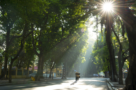 October to November is considered as the most pleasant time to visit Hanoi