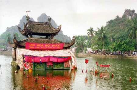 Thay Pagoda festival usually occurs in April