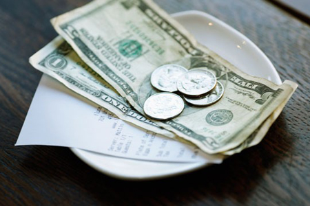 Tipping is necessary when traveling