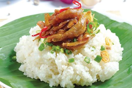 Xoi - Steamed sticky rice