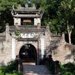 The ancient gate of Uoc Le Village