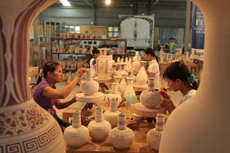 Chu Dau Pottery Village