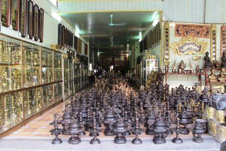Dai Bai Bronze Casting Village