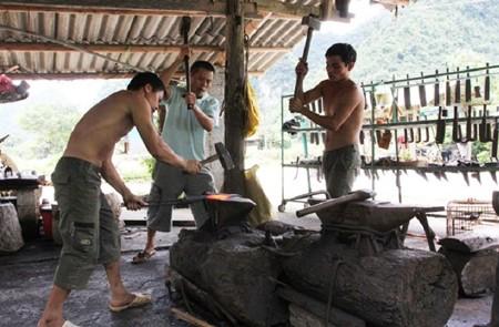 Ly Nhan Forging Village