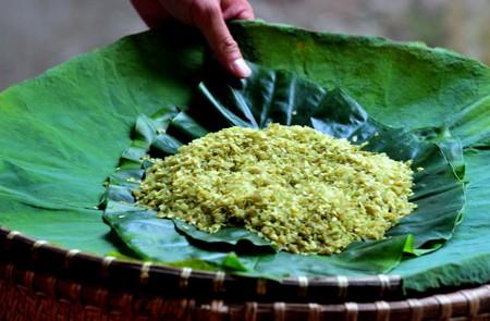 Com - Green Sticky Rice