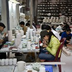 A workshop in Bat Trang Ceramic Village