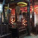 Inside Dong Ngac Communal House