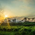 Long Bien Bridge - the oldest bridge in Hanoi