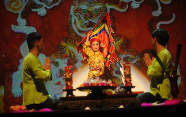 A Performace at Four Palaces Show