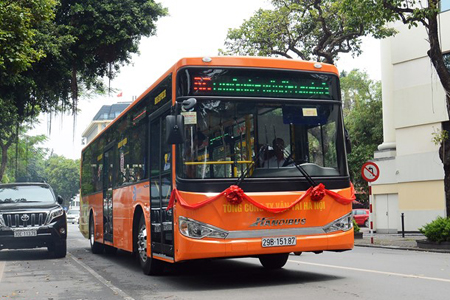 Ha Noi to Launch a Bus Route to Noi Bai Airport