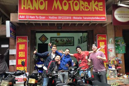 Motorbike Rental in Hanoi