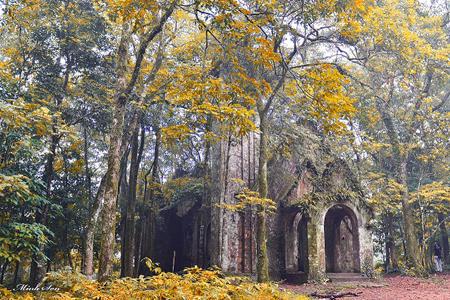 Old Cathedral in Ba Vi Hanoi