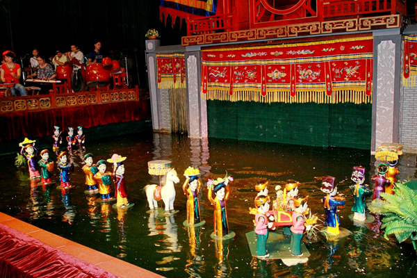 Water Puppet Theature