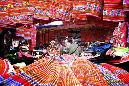 Dong Van Market Fair