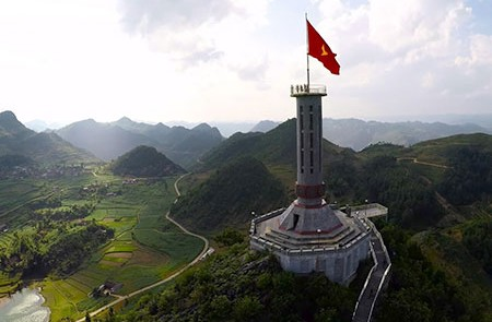 Lung Cu flag Tower