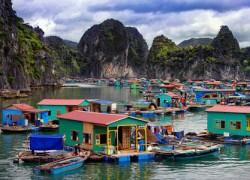 Ba Hang Floating Fishing Village