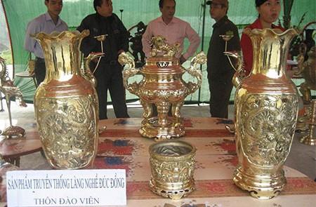 Dao Vien Bronze Carving Village