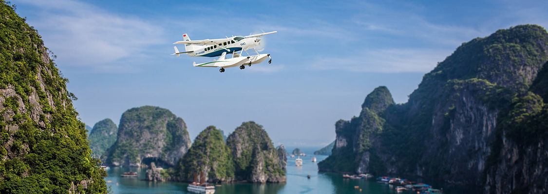Hanoi - Halong Bay Tour with Hai Au Aviation