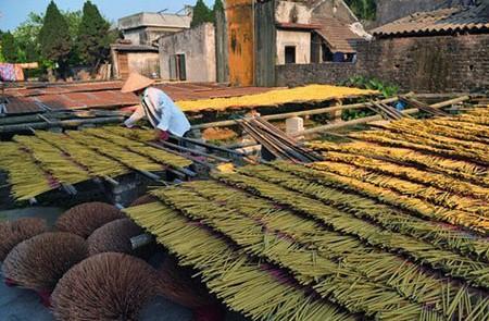 Lai Trieu Incense Village