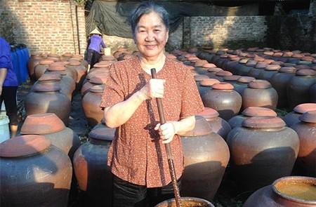 Yen Nhan - Ban Soybean Paste Village