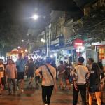 Hanoi night market hang ngang - hang dao