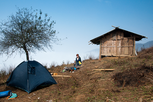 Ta Xua camping site