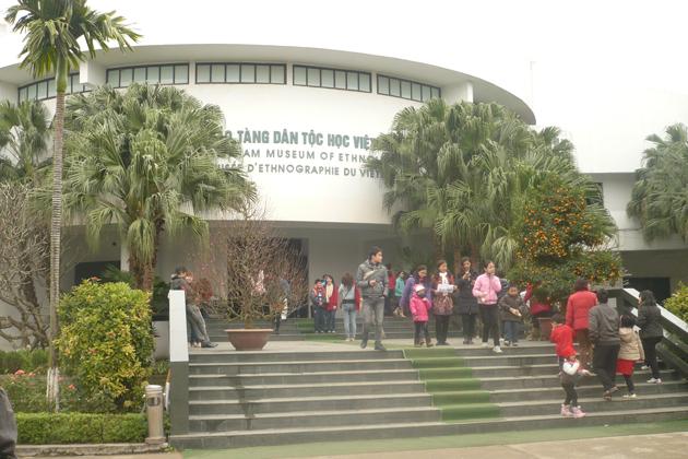 Vietnam Museum of Ethnology in Hanoi